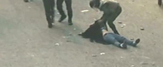 Egyptian woman stripped