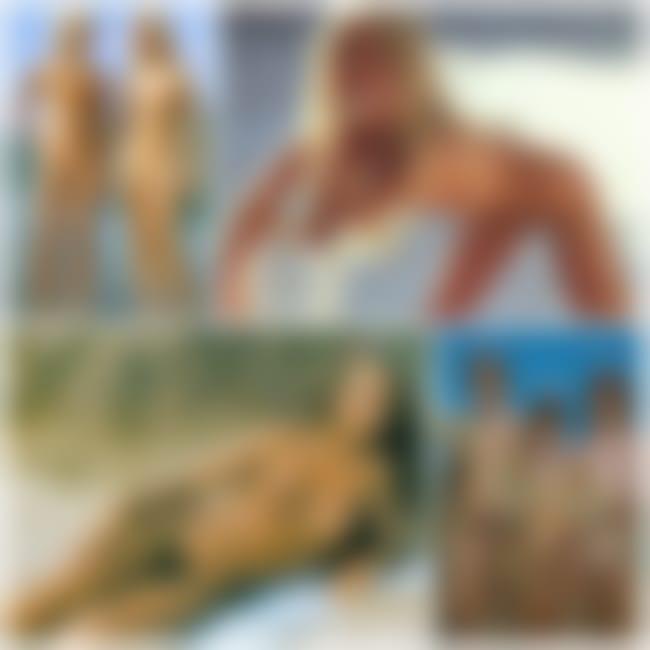 Beautiful young nudists