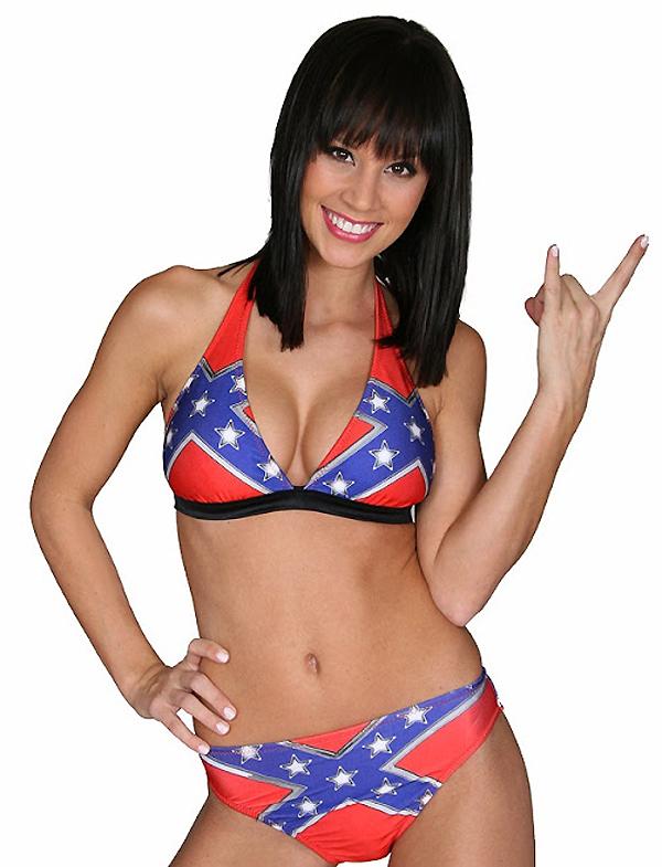 Confederate flag girl sex