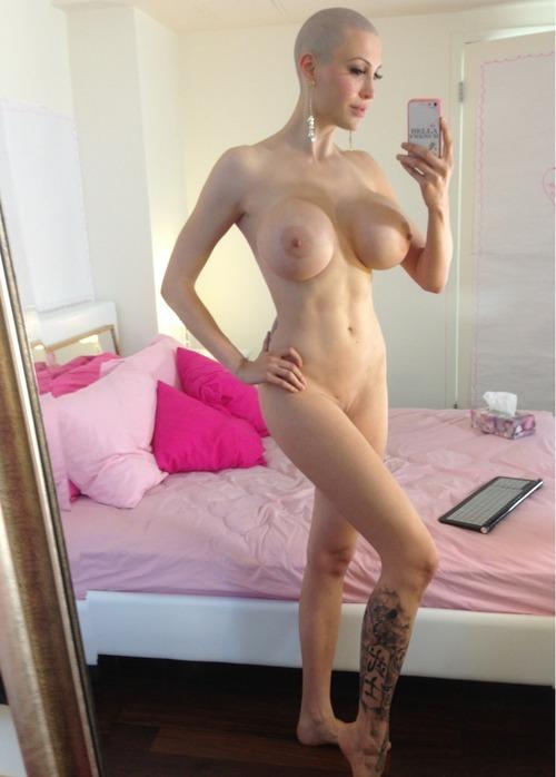 Bald girl porn