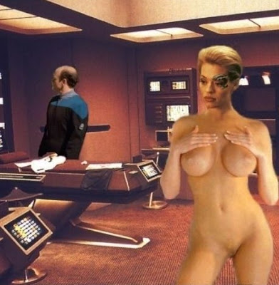 Porn sex star trek seven of nine