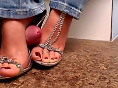 High heel feet porn