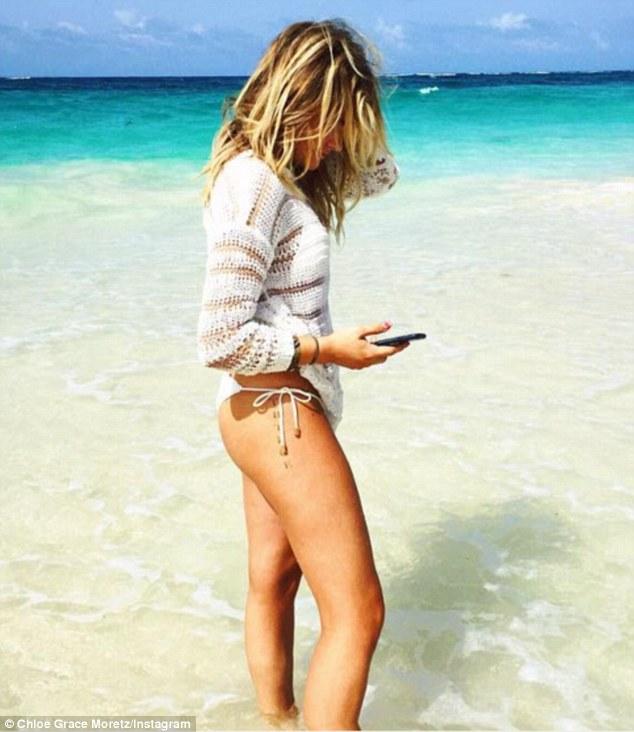 Sexy chloe moretz bikini