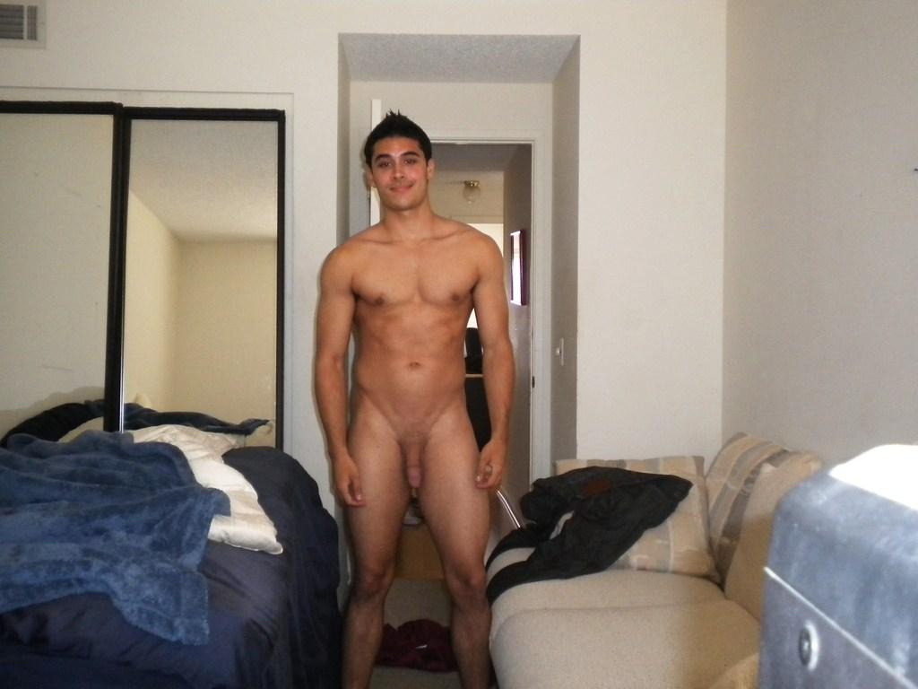Gay boy coming of age nude