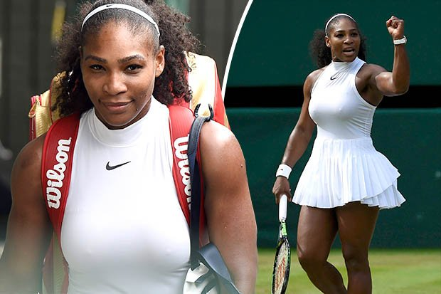 Serena williams see through