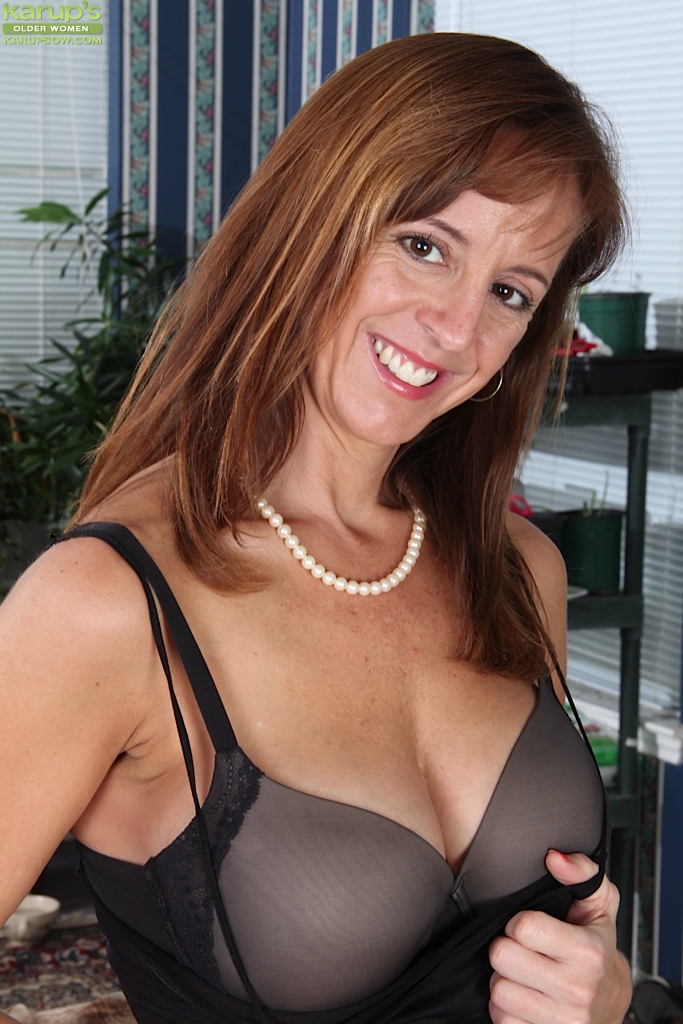 tits big Older with women