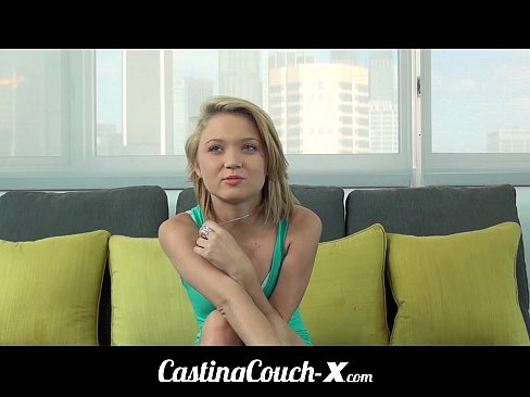 Cute girl casting couch