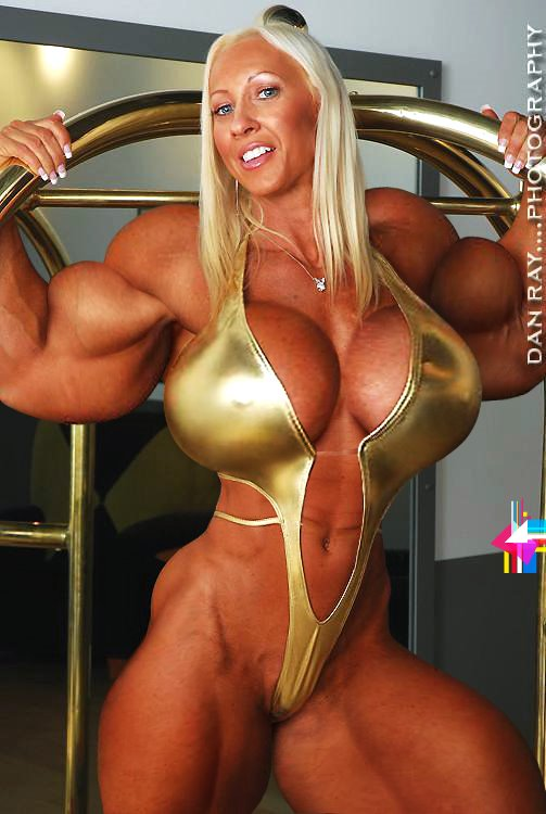 porn Sexy muscle woman
