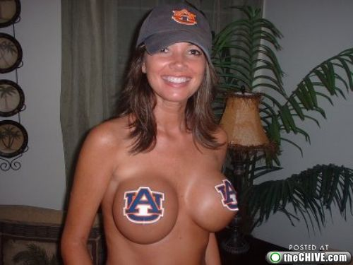 Hot naked college football girls