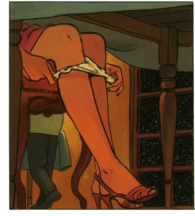 Erotic cartoon porn art