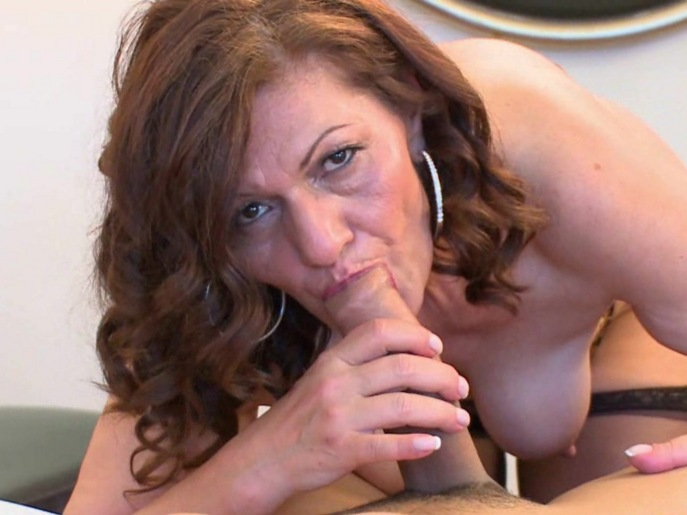 Mature women having sex