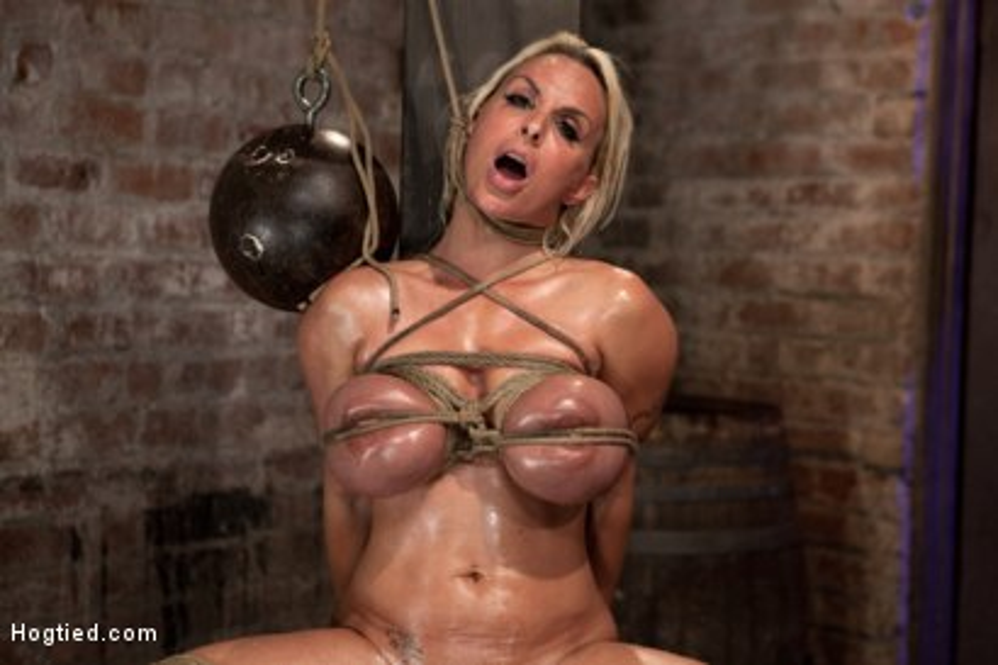 Bondage holly halston tits