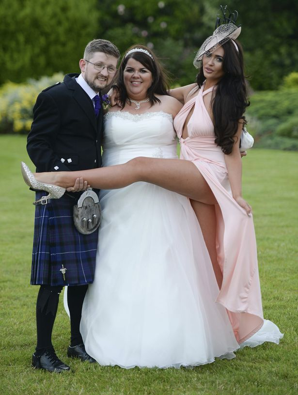 Bride no panties