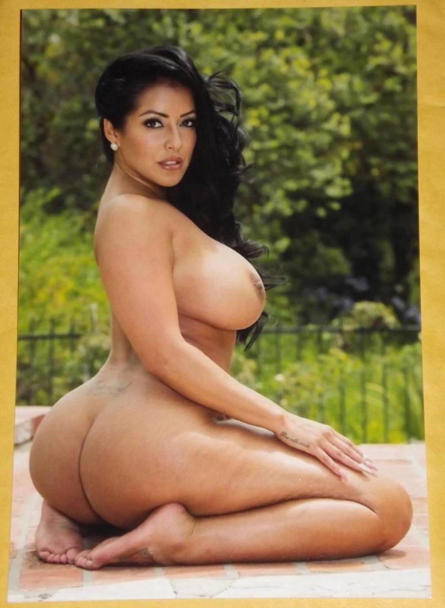 Big boobs tits nude model