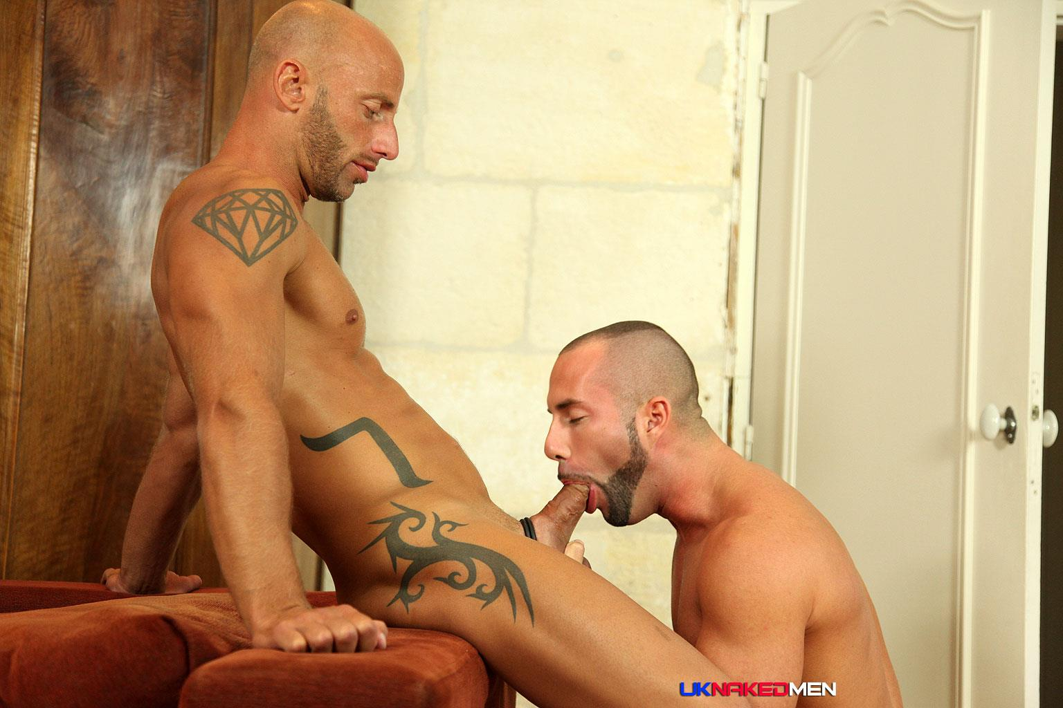 Hot gay men getting fucked