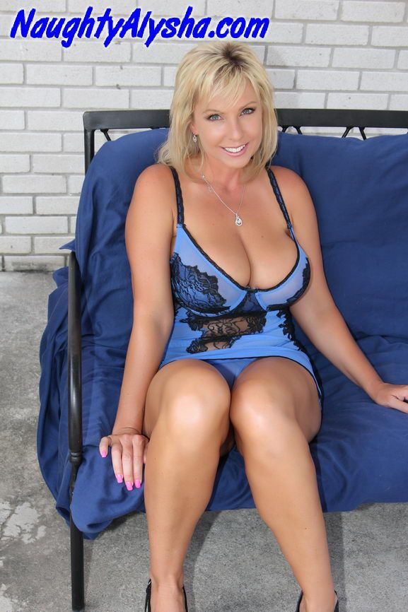 Naughty busty mature
