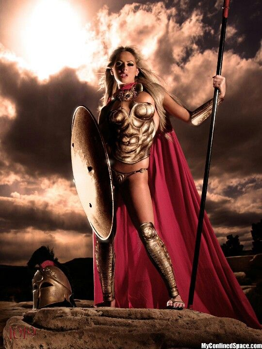 Spartan female warrior porn