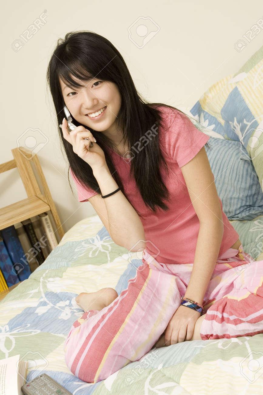 Asian american teen