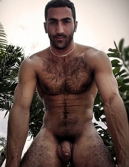 Nude middle eastern men