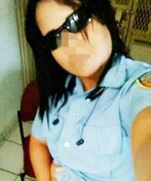 Puerto rican police woman nude