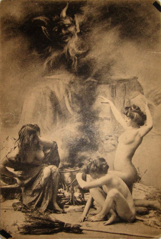 Witches sabbat in paris