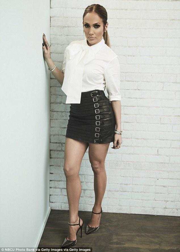 Micro mini skirt milf