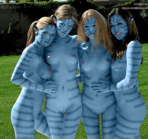 Avatar girls naked