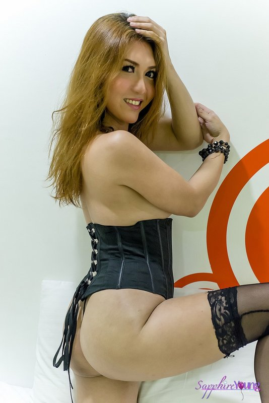 Sapphire young tranny