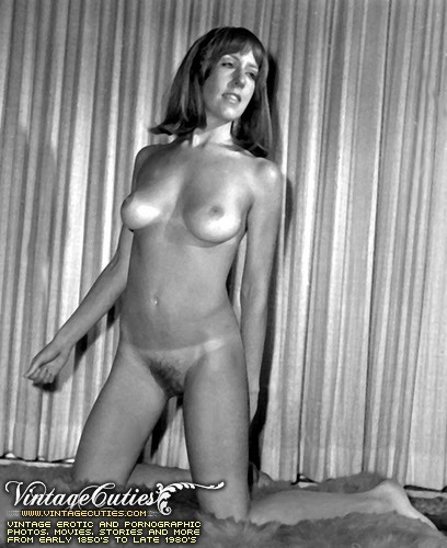 Vintage black and white retro porn