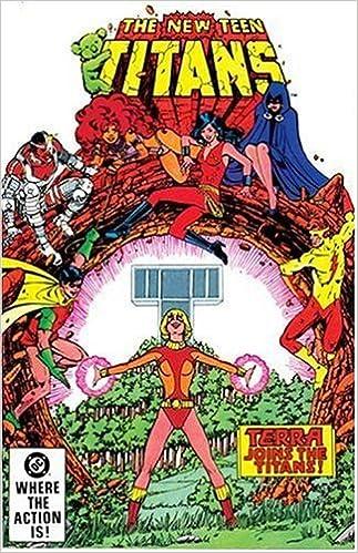 Teen titans terra comics