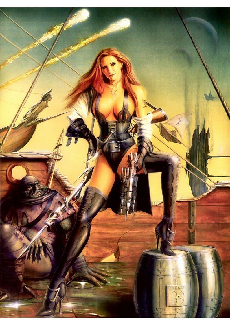 Sex girl nude fantasy art