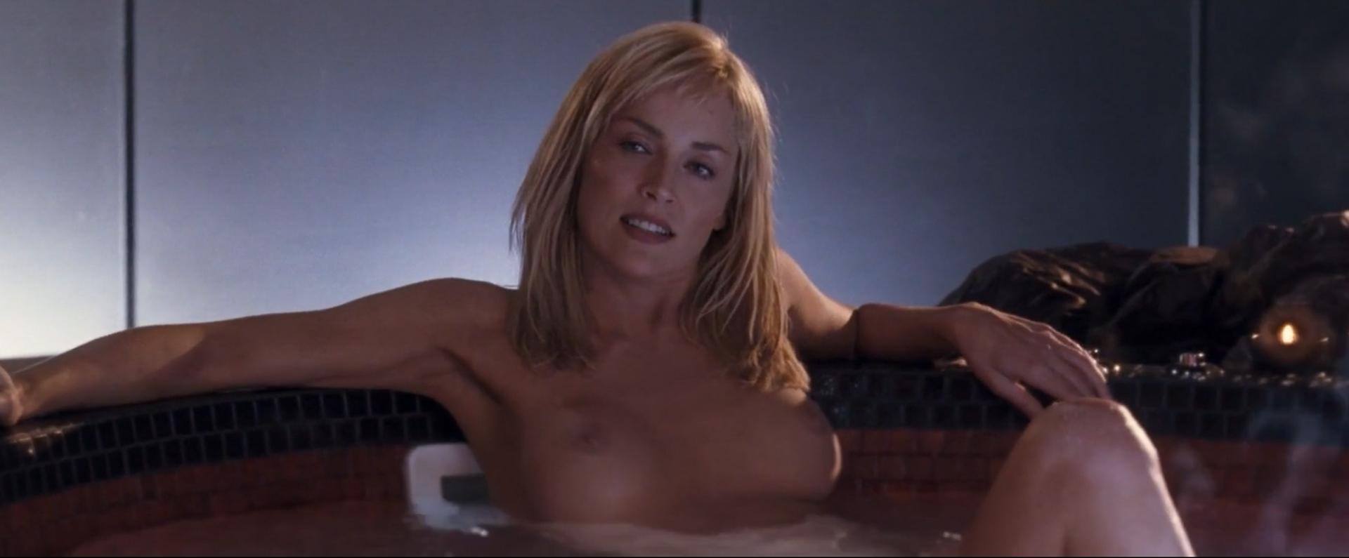 Sharon stone nude