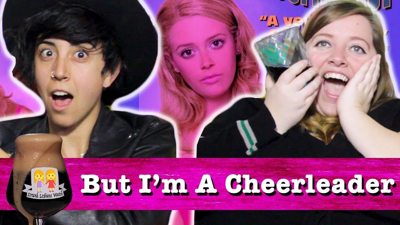 Butch lesbian and cheerleader