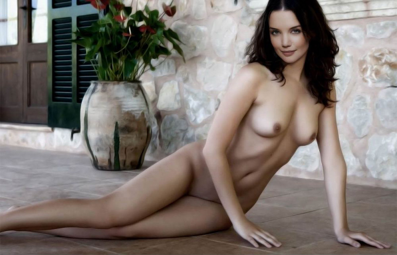 Nude katie holmes topless