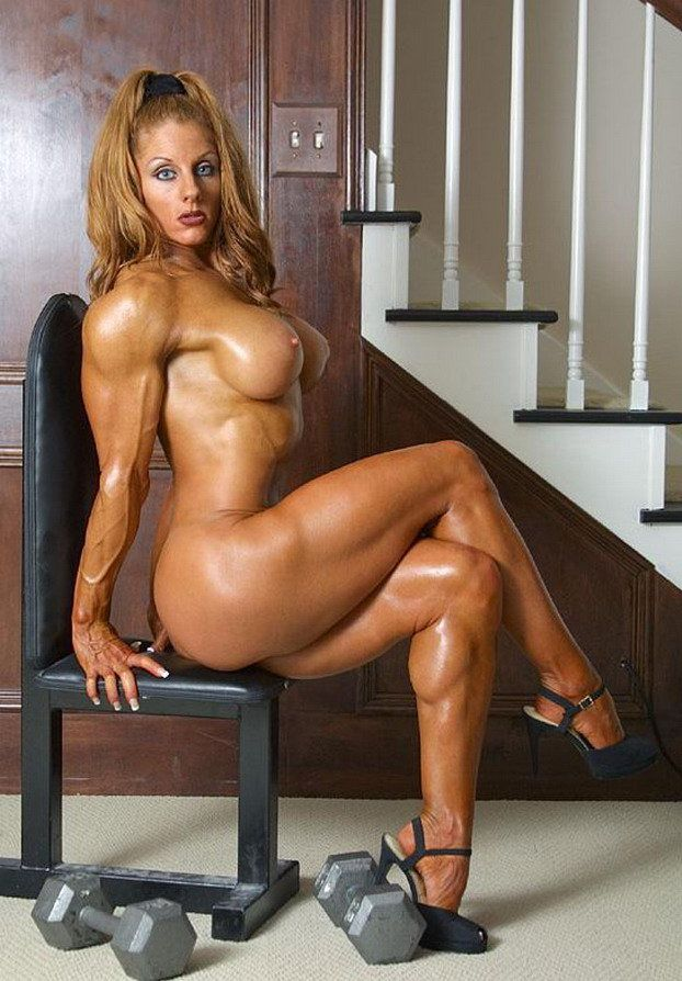 bodybuilders Nude ass female