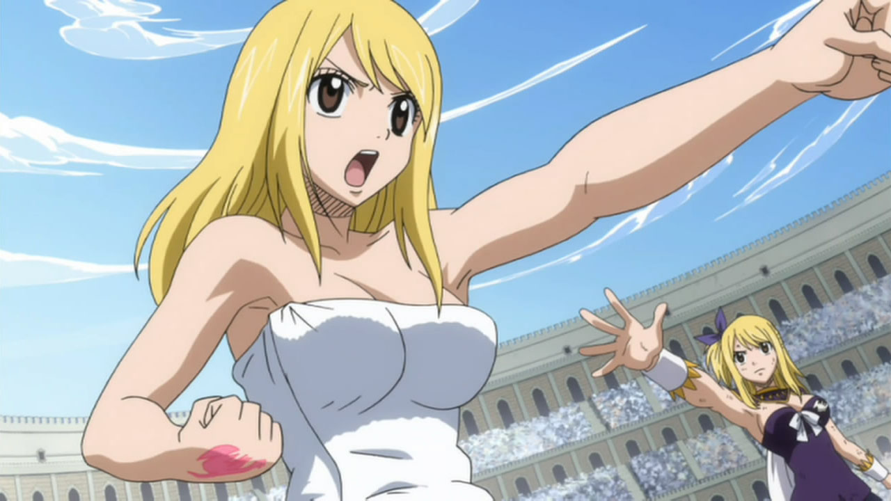 Lucy fairy tail can a hentai