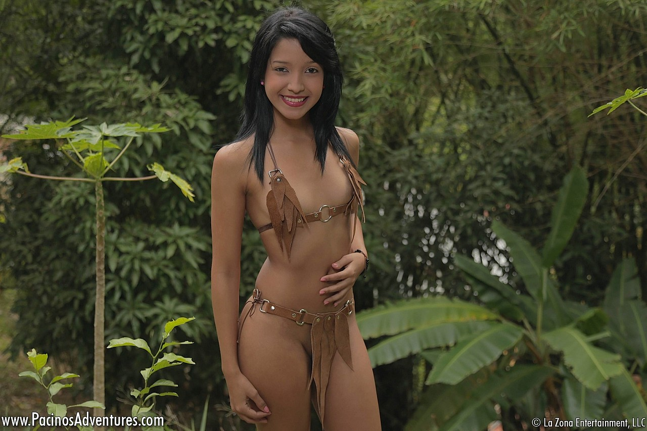 curvy jungle girl Nude