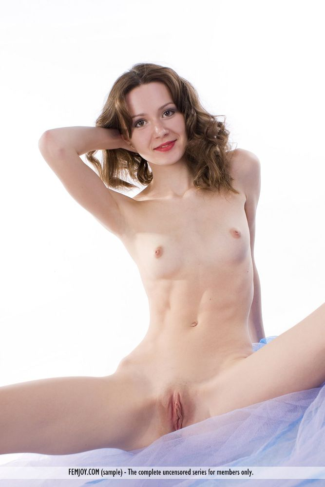 Skinny tight shaved pussy