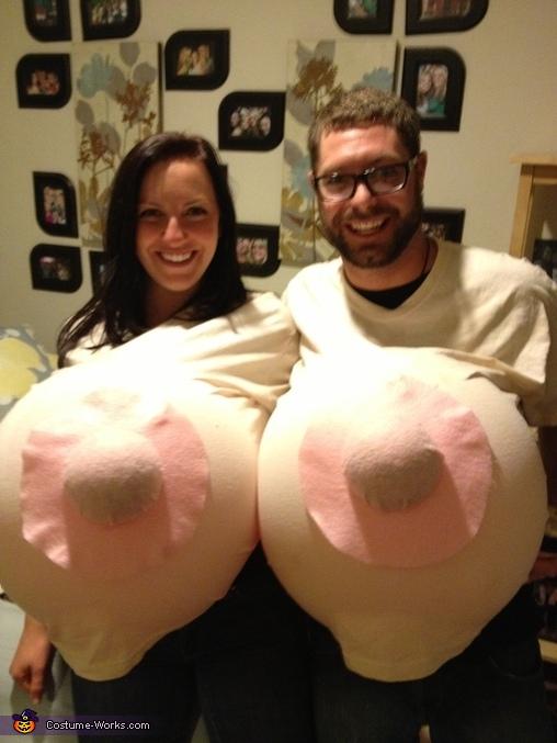 Big boob halloween costume
