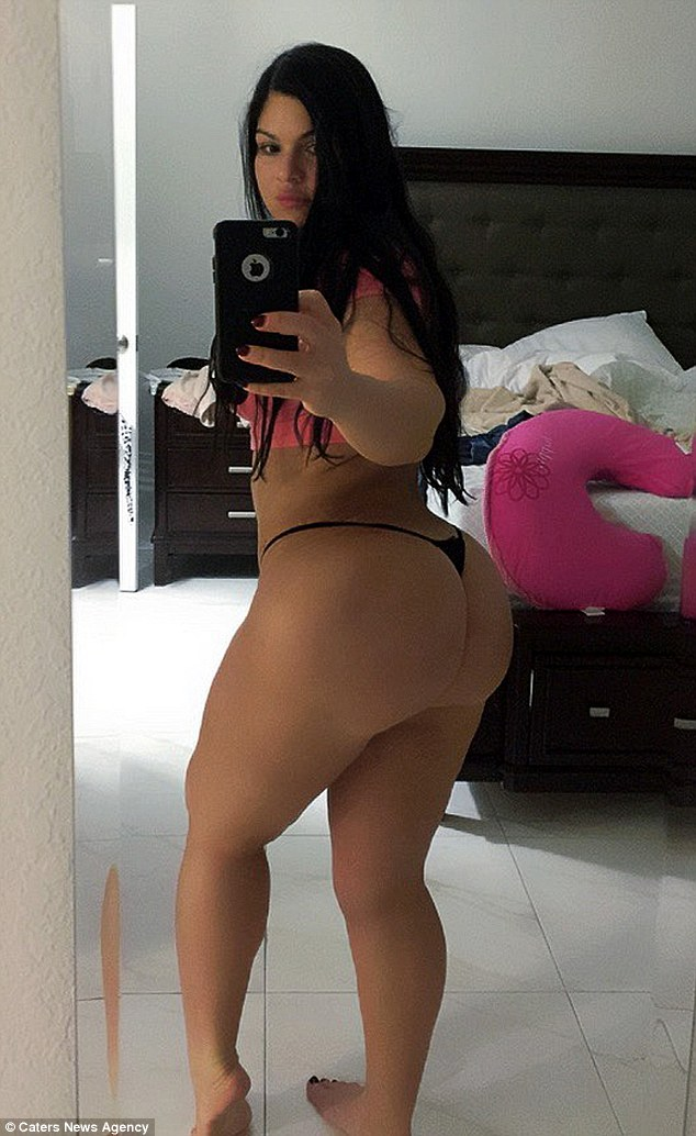 Big latina asses booty shorts