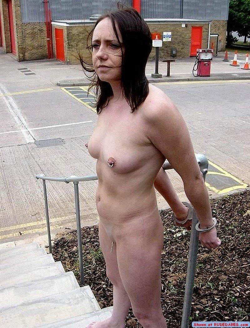 Public nude dare
