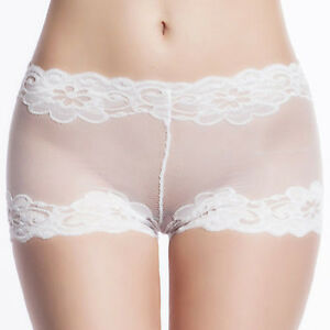 Lingerie sexy sheer panties