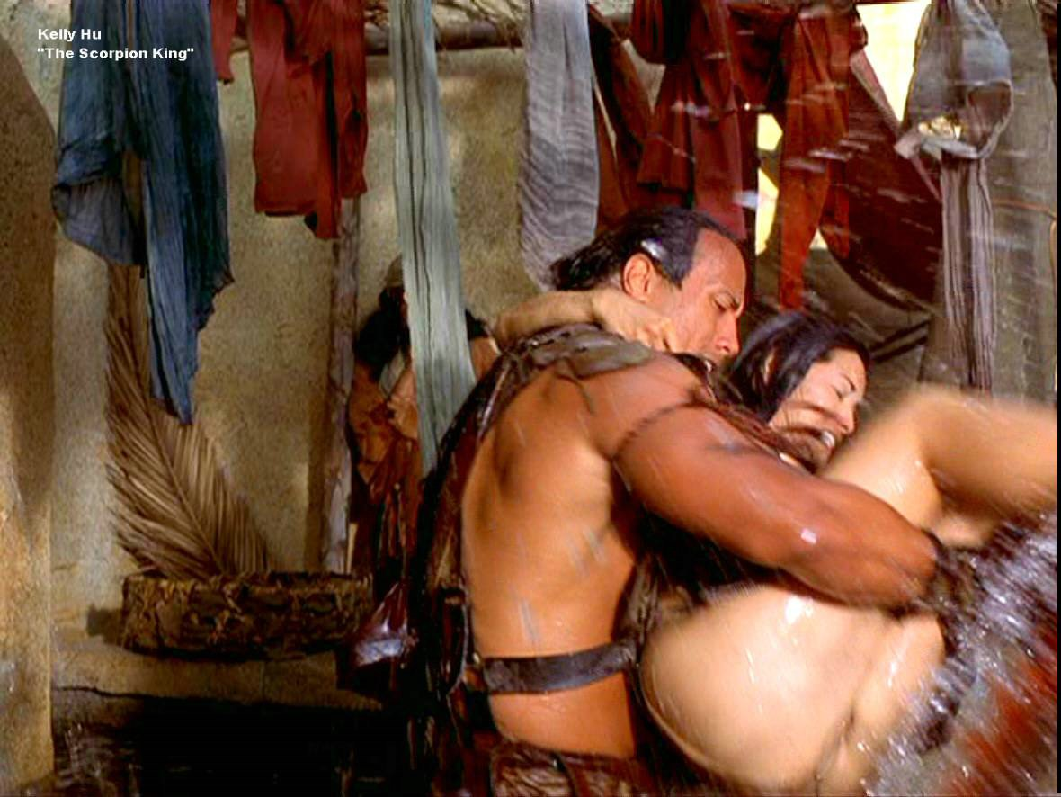 Naked kelly hu nude scorpion