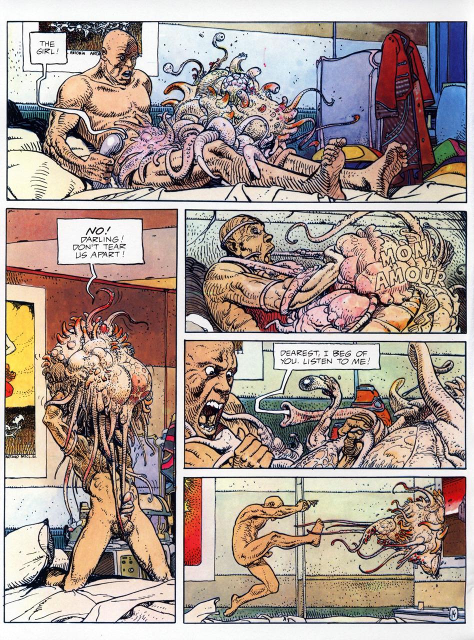 Alien sex comics