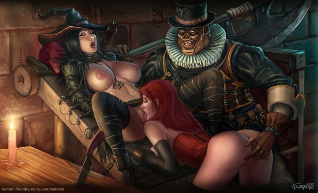 Demon and witch porn