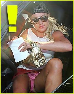 Britney spears upskirt no panties