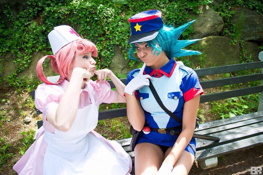 jenny joy Pokemon nurse and officer