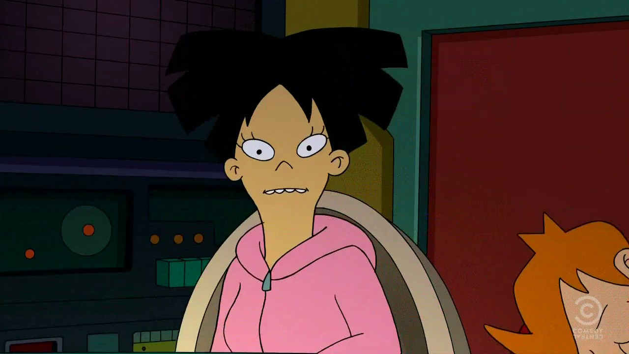 Futurama amy wong anime