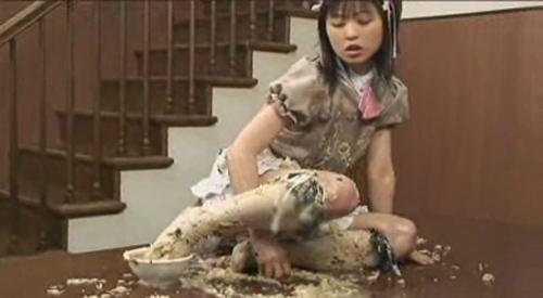 Japanese girl puke porn
