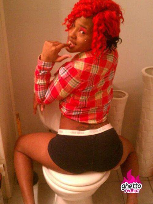 Ghetto black girl sexy